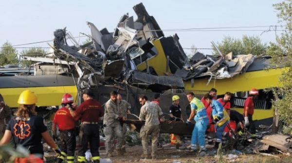 strage dei treni in puglia